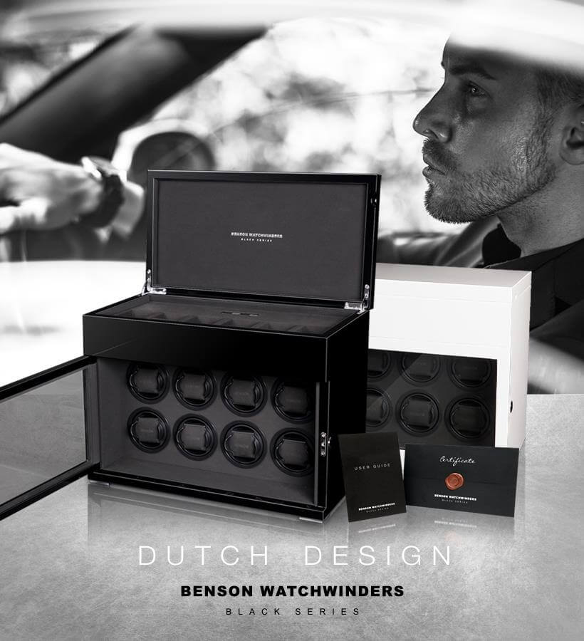 Benson Black Watchwinders