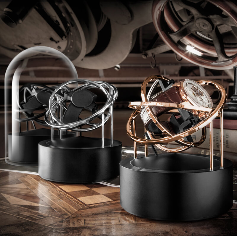 Bernard Favre Planet watch winder