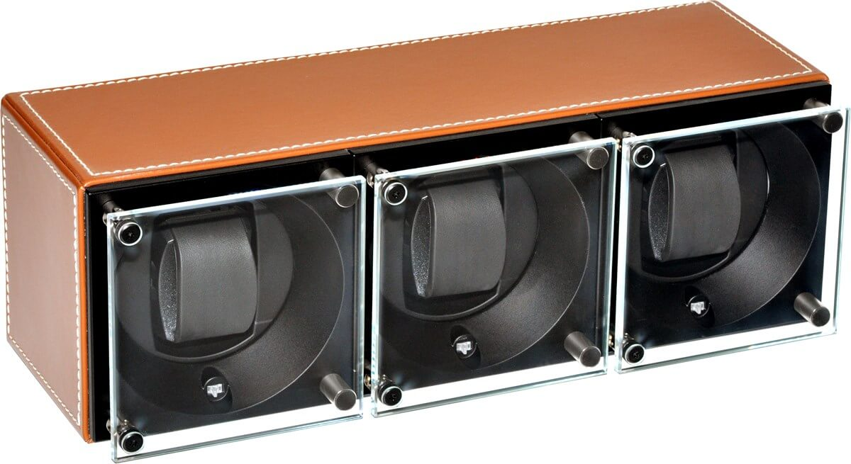 Swiss Kubik Triple watch winder