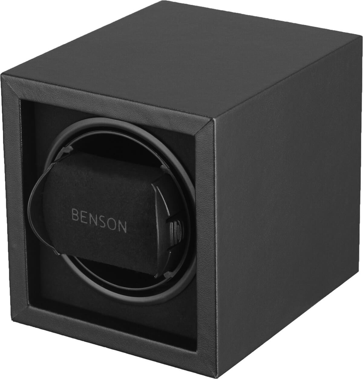 Benson Compact 1.17. Black Leather