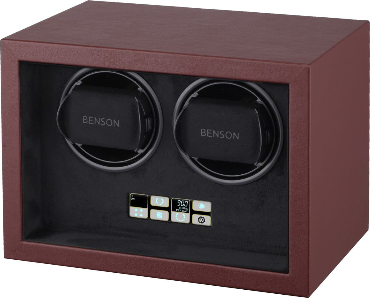 Benson Compact 2.18 Dark Brown Leather