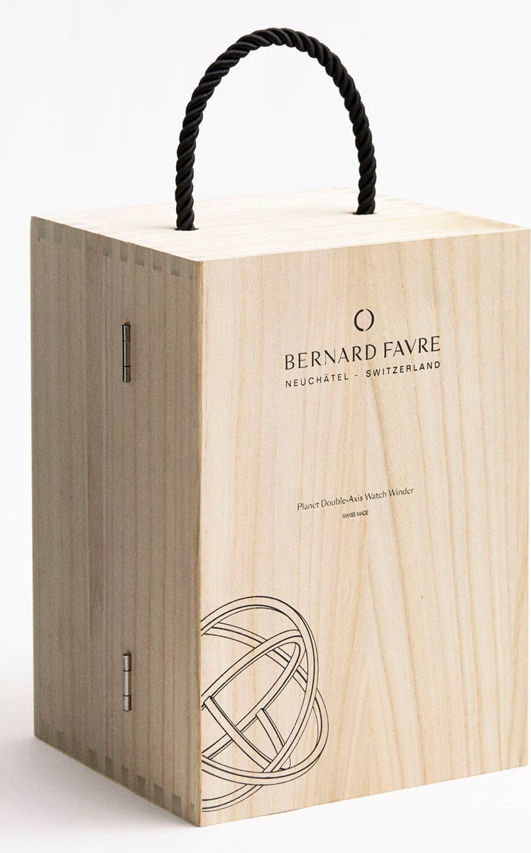 Bernard Favre Planet Silver watch winder