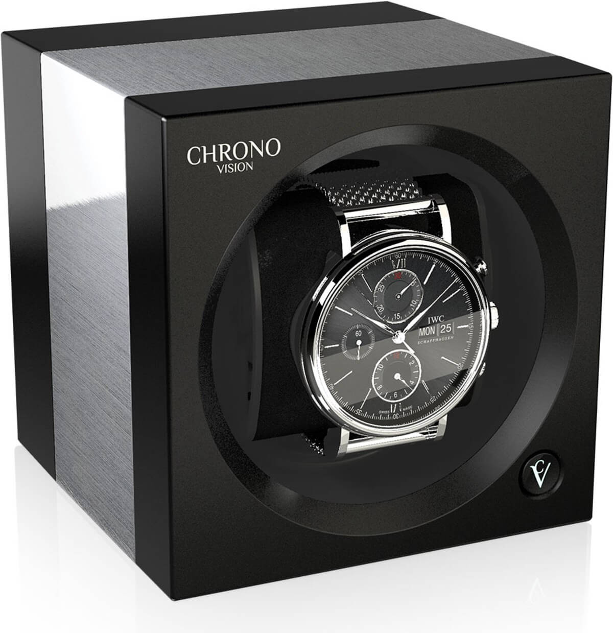 Chronovision One Aluminium black silk